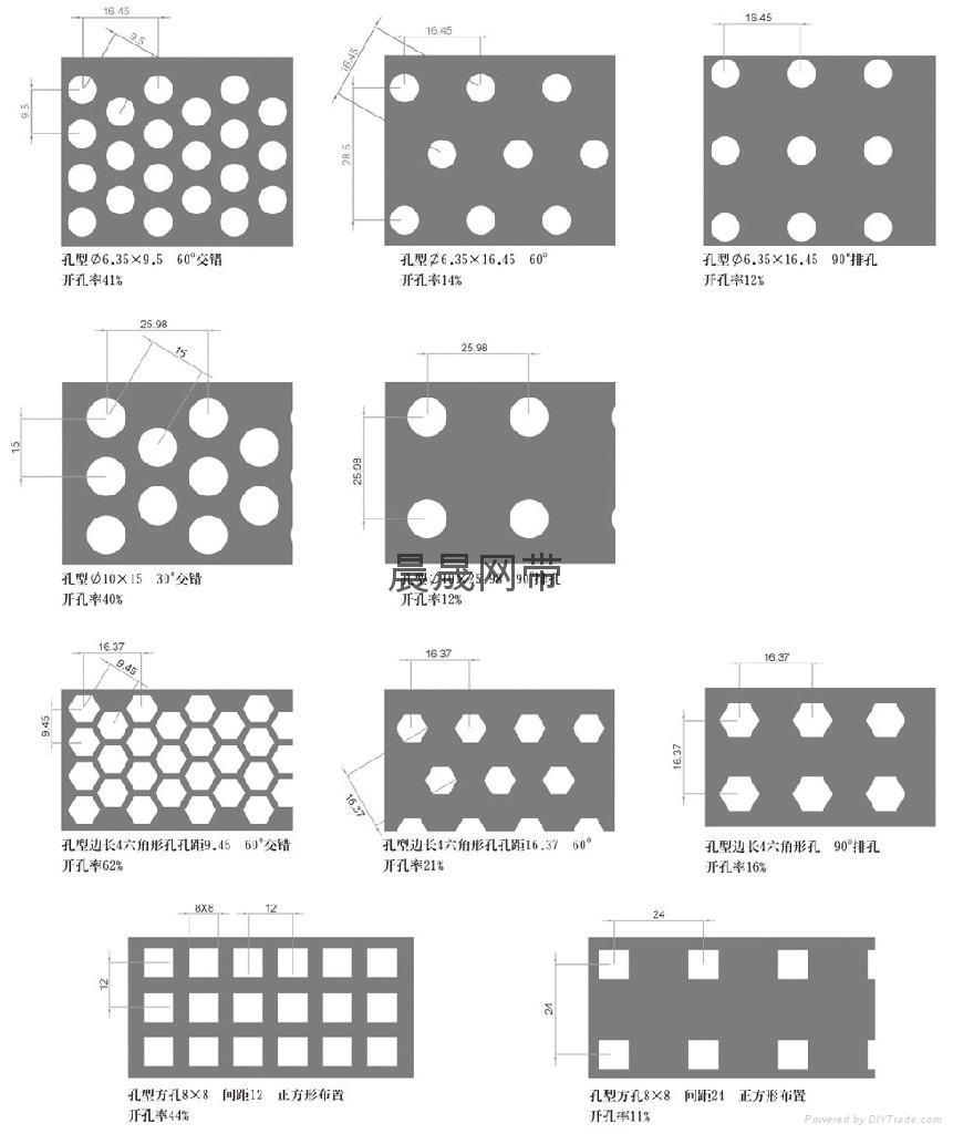 不锈钢冲孔圆孔网板 1