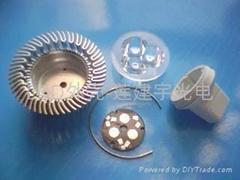 大功率LED燈杯射燈外殼