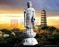 佛主釋迦摩尼石雕像