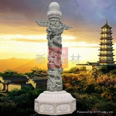惠安石雕龍柱
