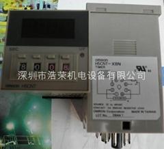 欧姆龙时间继电器H5CNT-XBN-Z  12-48V