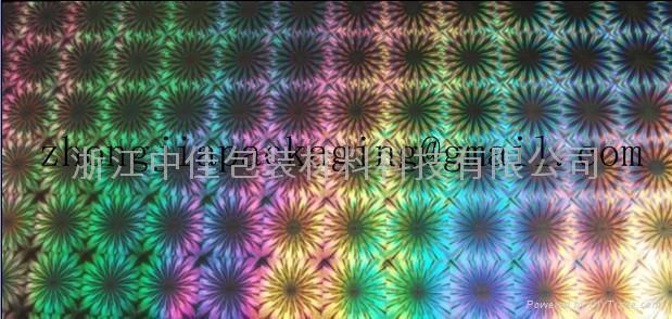 PET holographic film 4