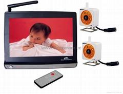 baby monitor wireless camera kit surveillance system  Free Shipping