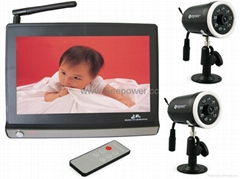 baby monitor wireless camera kit surveillance system  Free Shipping