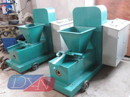 Sawdust Briquette Machine ~ Sawdust biomass briquette press machine zbj dyan