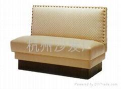 餐厅卡座沙发定做出售