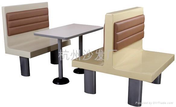 餐厅卡座沙发定做出售 3