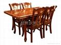 杭州餐廳桌椅定做出售 2