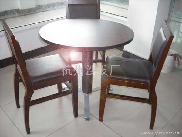 杭州餐廳桌椅定做出售 3