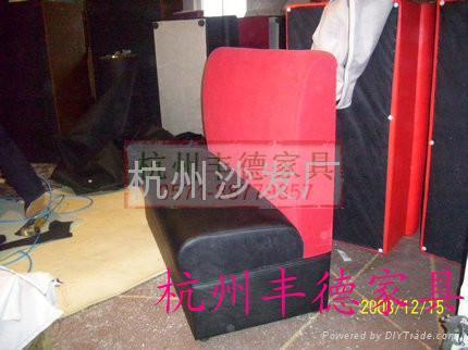 杭州沙发翻新卡座沙发 2