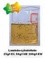 Lambda Cyhalothrin 96%TC, 25g/LEC,50g