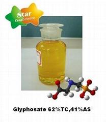 Glyphosate 62%TC, 41%AS