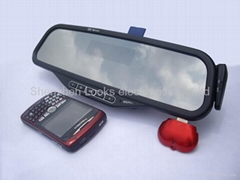 bluetooth handsfree car kit with display english name