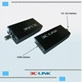 Transmitter and Receiver 1080P HD-SDI over Fiber with RS485 3