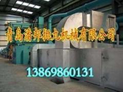 通过式钢板抛丸机钢管型钢清理设备