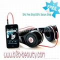 Monster Beats Black By Dr Dre Studio Headphones,DHL 3-4days Free Ship (Hot Product - 1*)