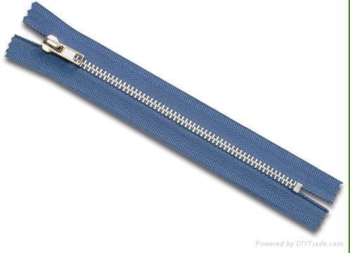 #4 metal zipper closed auto slider 1