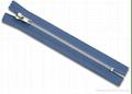 #4 metal zipper closed auto slider