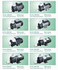 whirlpool pump & heater