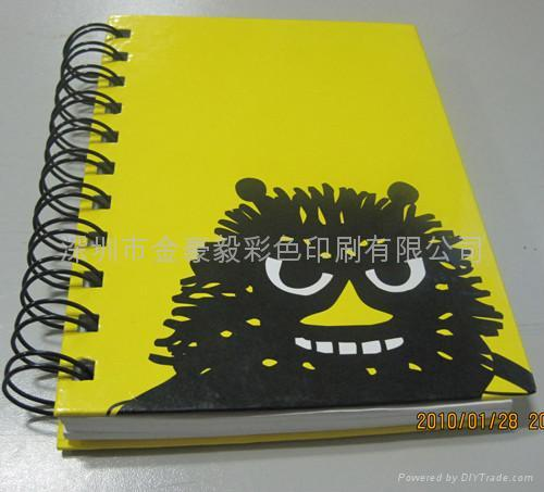 spiral notebook 4