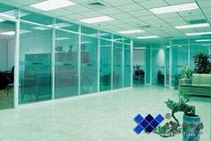 上海意昀专业双层玻璃隔断内置百叶帘