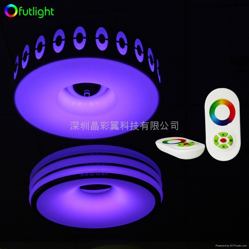 LED吸頂燈遙控調光調色控制器 3