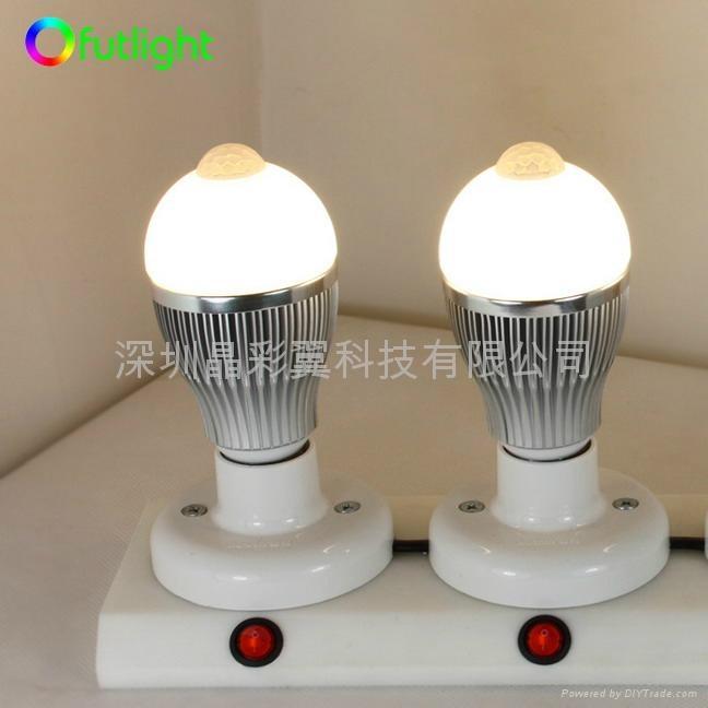 LED紅外感應球泡 1