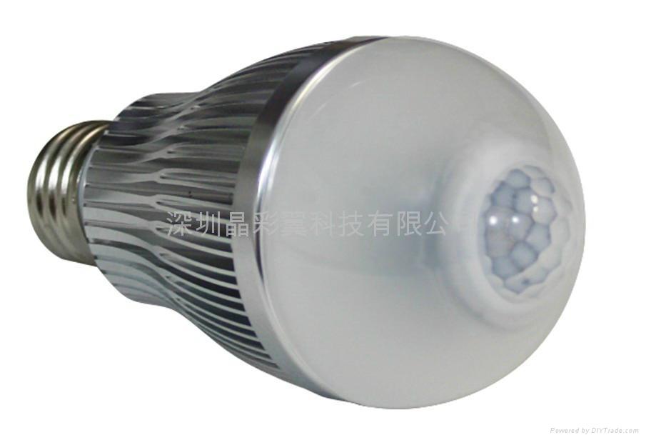 LED紅外感應球泡 2