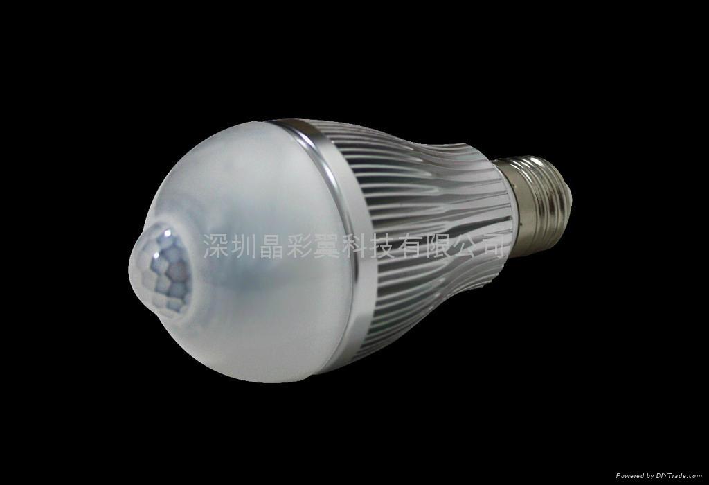 LED紅外感應球泡 3