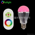 LED遙調光調色球泡 2