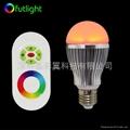 LED遙調光調色球泡 4