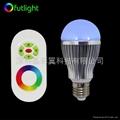 LED遙調光調色球泡 5