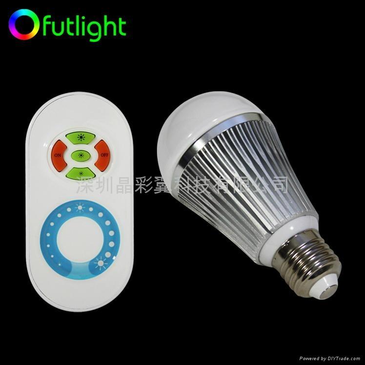 LED遙控調光球泡 1