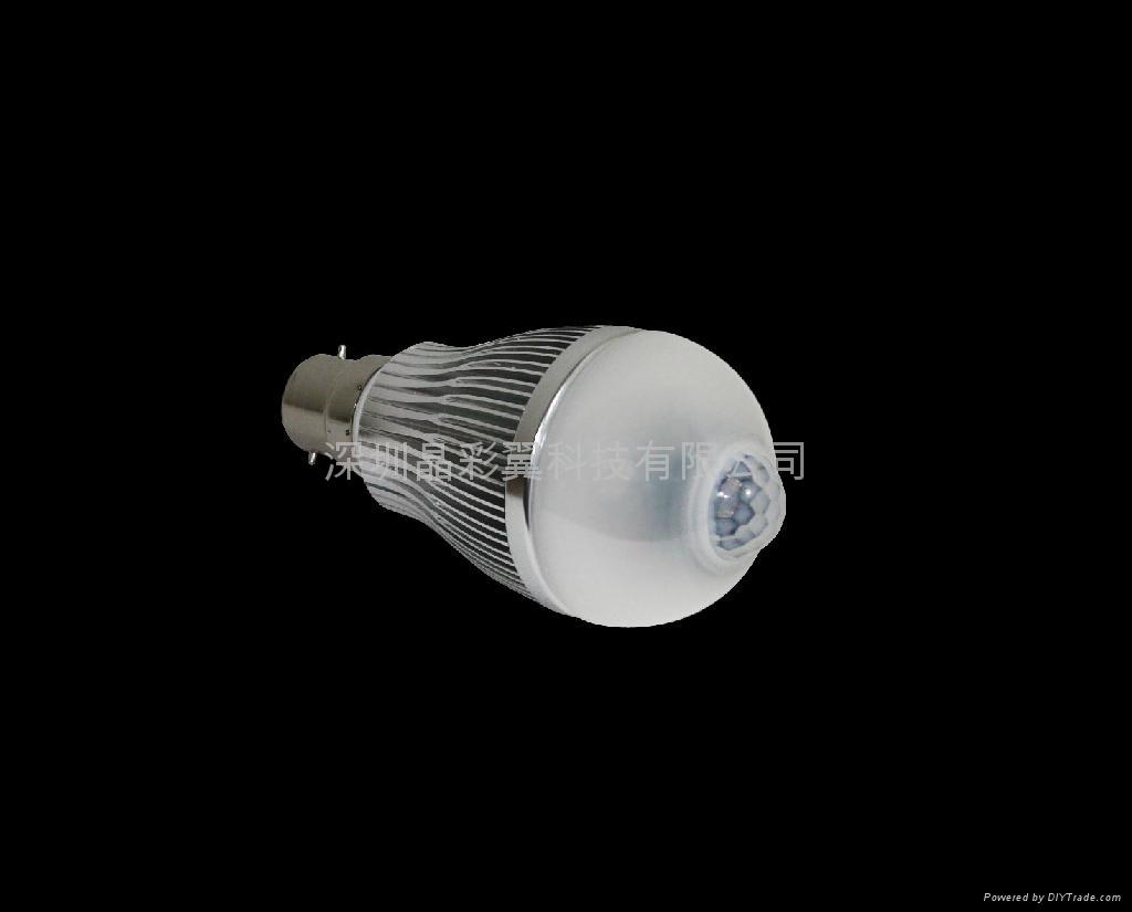 LED紅外感應球泡 4