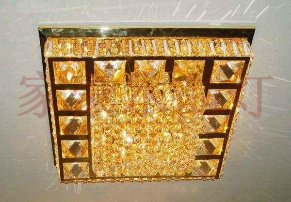 Square crystal ceiling lighting crystal lamp 3