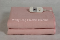 Cozy fleece polyester electric heating blankets