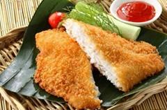 Breaded Tilapia Fillet/Prefired seafood
