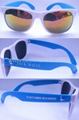 promotion neon rubber Sunglasses