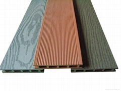 Outdoor wpc material decking  --HOLLOW DESIGN