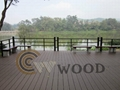 WPC solid decking floor