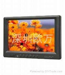 7寸數碼相機外接HDMI觸摸顯示器