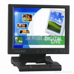 供應利利普10.4車載 HDMI工業顯示器