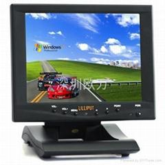 批發利利普8寸折疊式高清液晶 觸摸顯示器