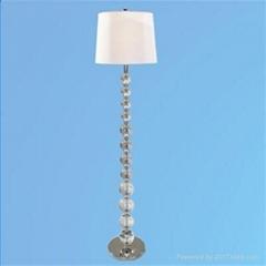 Modern Crystal Standing Floor Lamp