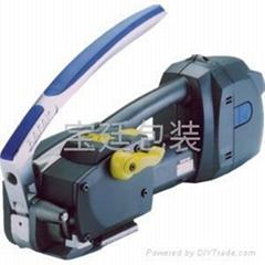 塑钢带电动打包机