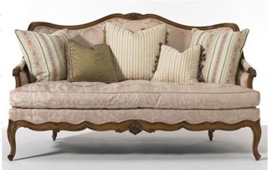 Attirant Luxuary Classic Wooden Sofa