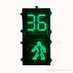 紅綠二合一人形燈加倒計時2燈組