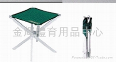 4 legs aluminum folding chair