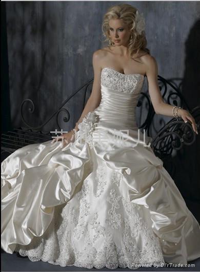 批發熱銷新婚婚紗JY07 3