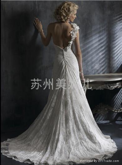 批發供應外貿精美婚紗JY19 2